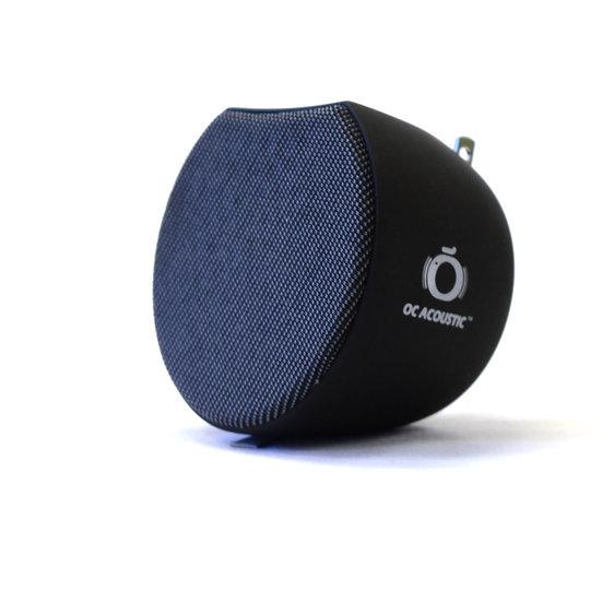 Newport Plug-in Speaker, Charcoal Gray / Black