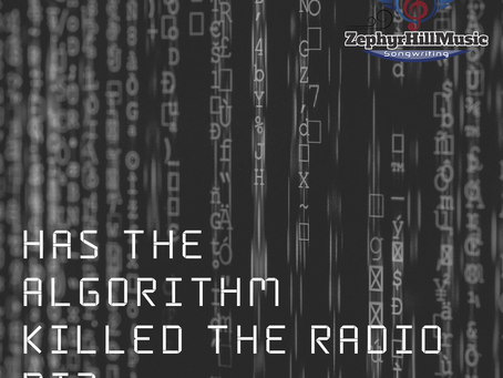 HAS THE ALGORITHM KILLED THE RADIO DJ?