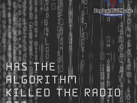 HAS THE ALGORITHM KILLED THE RADIO DJ?