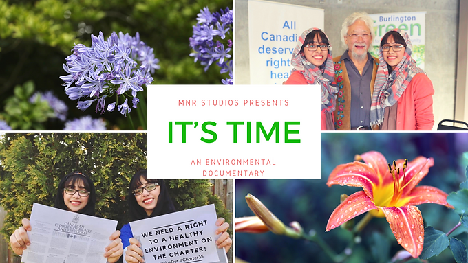 Maryam and Nivaal Just Released their Environmental Documentary!