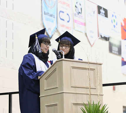 Becoming the First Twin Valedictorians of our High School