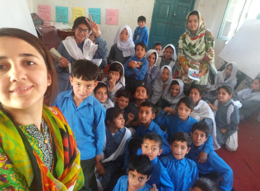 Kids Career Workshop in Gilgit, Pakistan