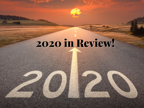 2020 in Review, whew!!