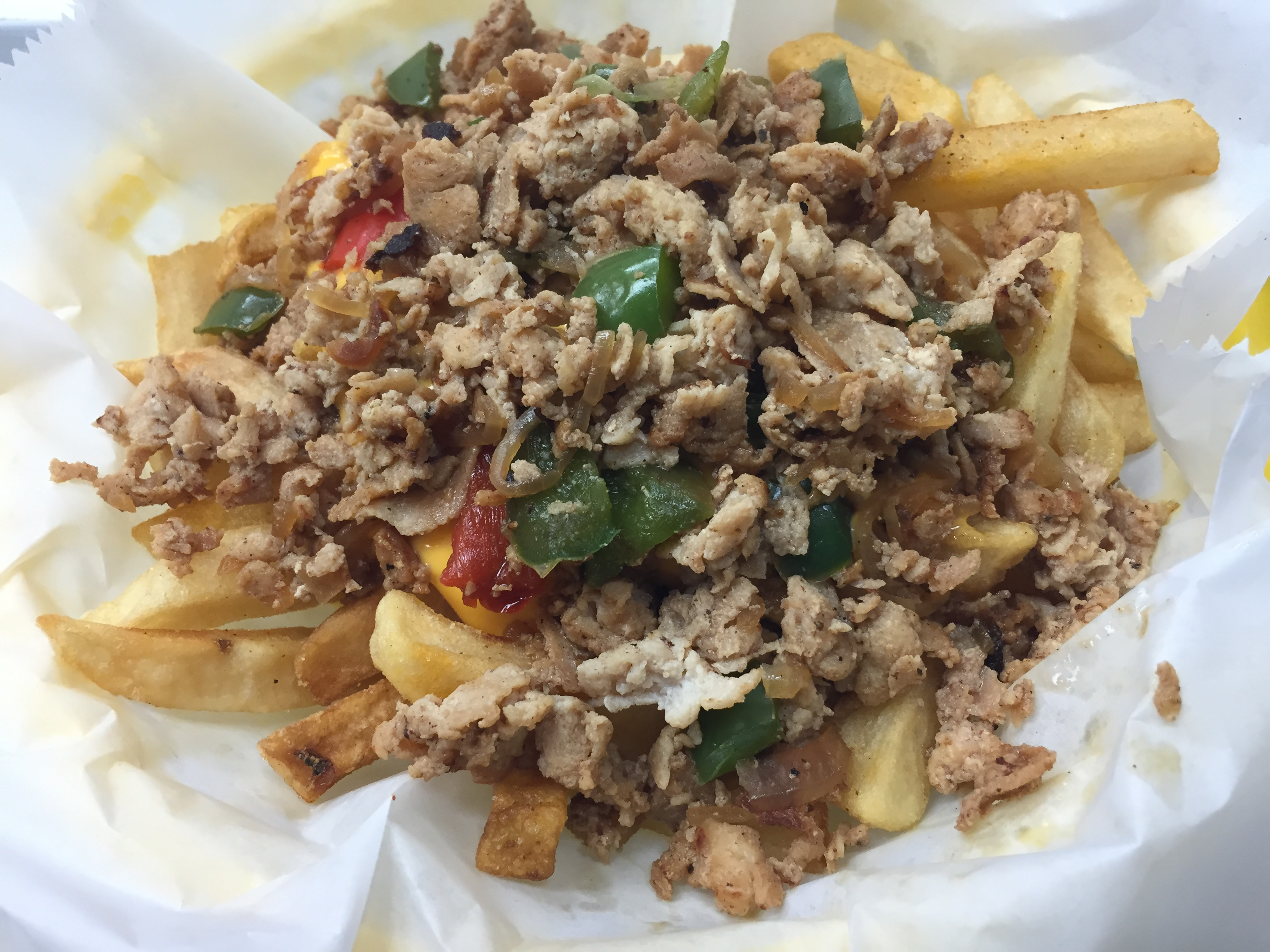 Chicken Cheesesteak Fry