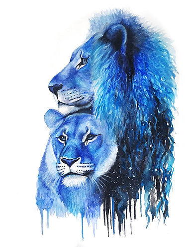 Blue Lions - Original