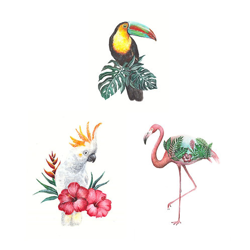 Tropical Mini Print Bundle