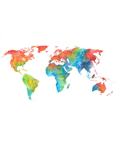 Colorful World - Original