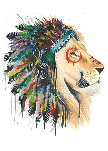 Native Lion - Original