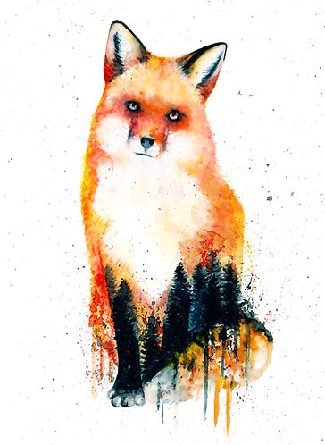 Forest Fox - Original
