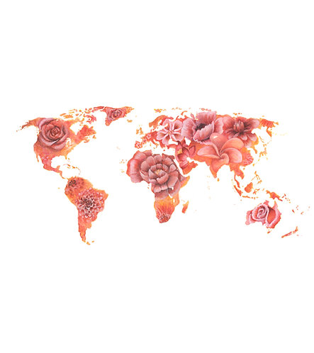 Flower World - Original