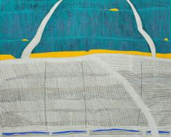 선묘 풍경 A Scenery of Lines 120x150cm 캔버스에