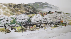 용천리의 봄