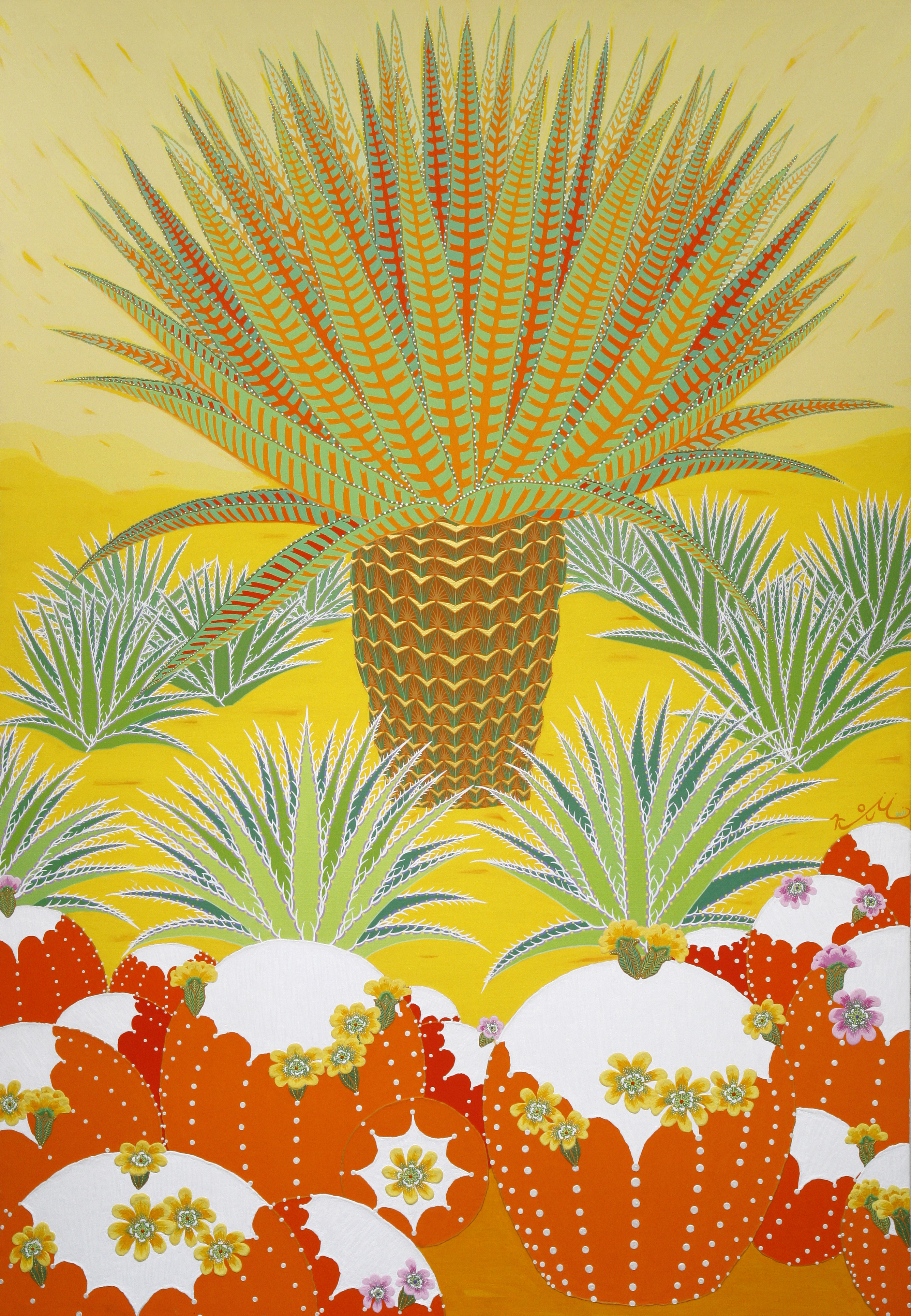 a cactus-beautiful time