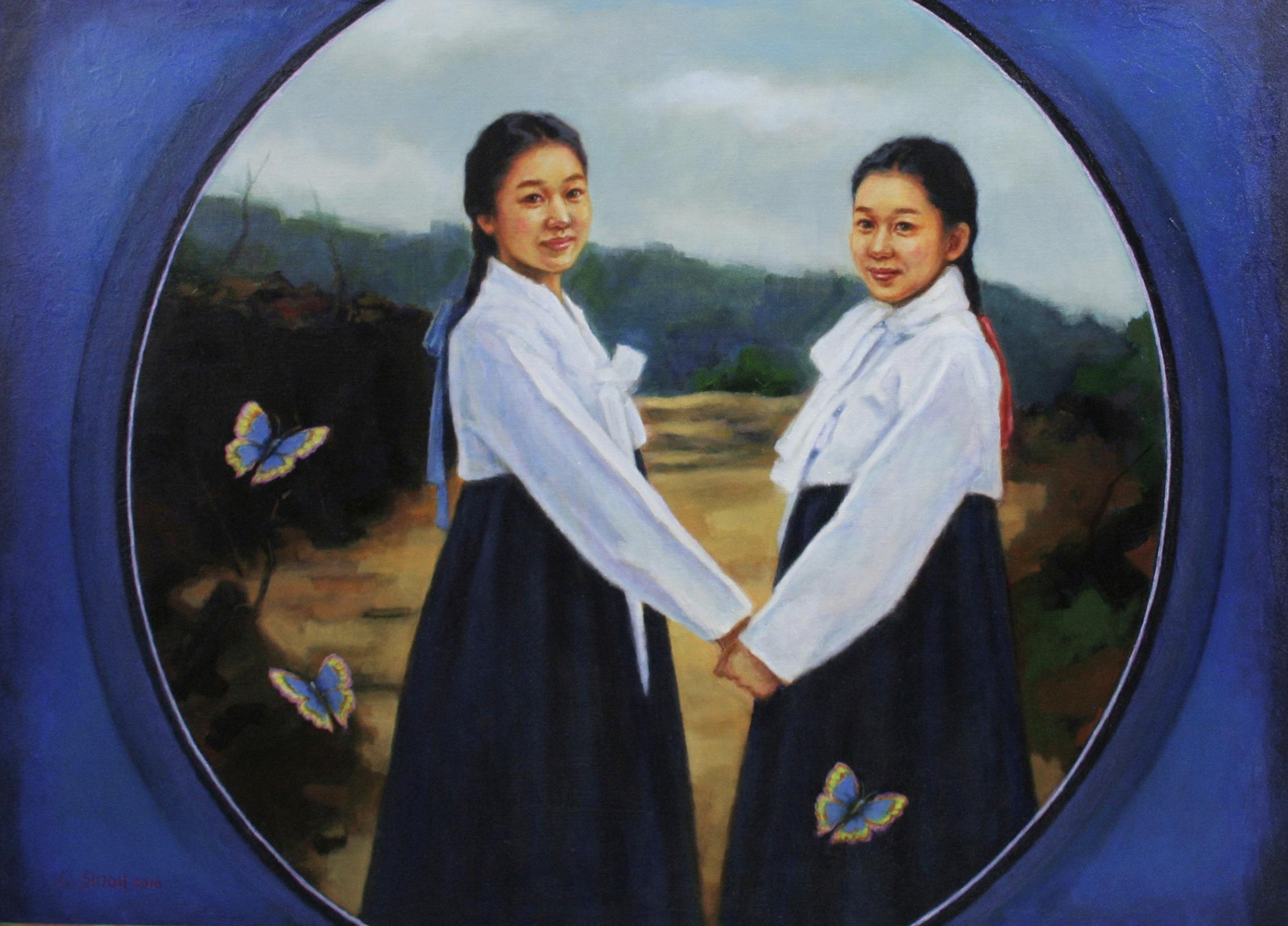 심상(아름다운세상을꿈꾸며III)  oil on canvas  116