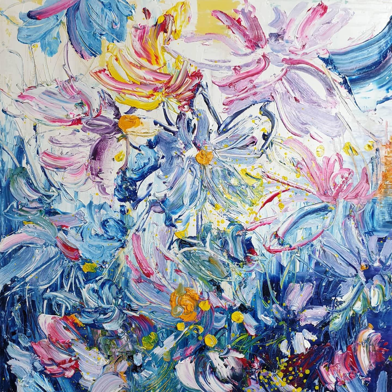 박순영_꿈꾸는 정원_72.7x60.6_Oil on canvas.