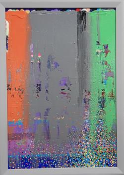 15P  Acrylic on canvas  The origin of vi