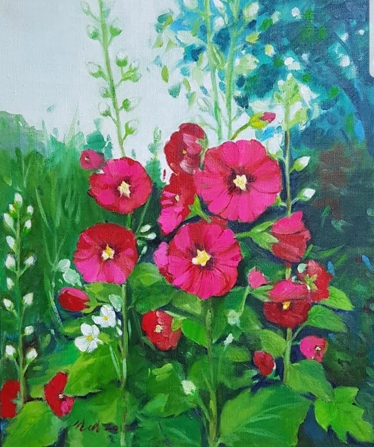 접시꽃사랑