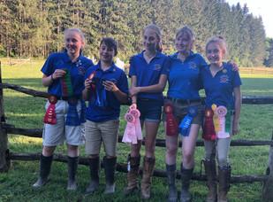 Pony Club Teamwork