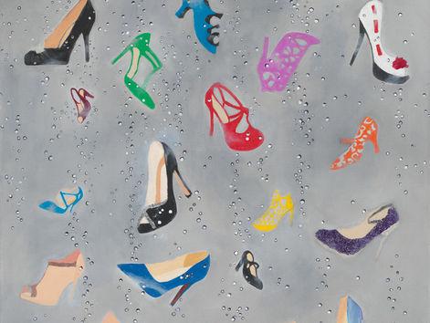 Rain Drops Falling on My Shoes