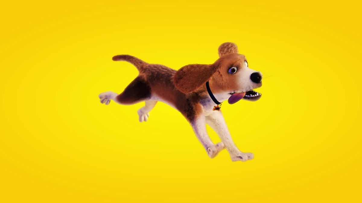 Beagle 3D dog Model