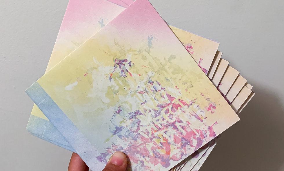 Slow Process {printed zine}