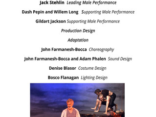 Tempest REDUX Stage Raw Awards Nominations