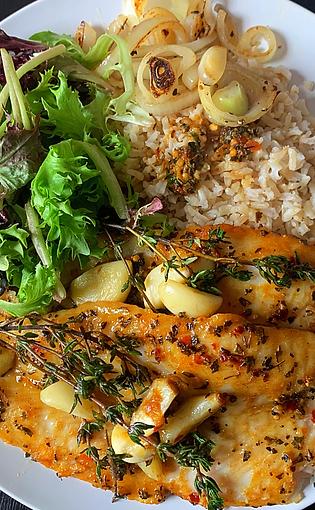 Spicy Basa Fish
