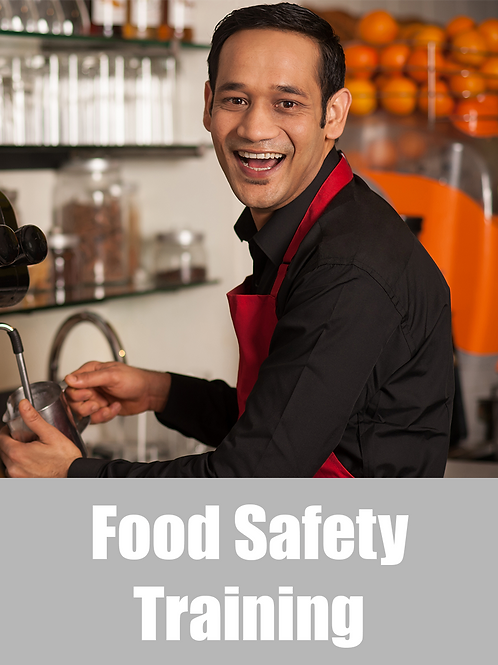 Food Safety Supervisor - Online (Non NSW)
