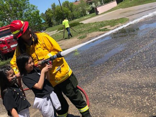 RST Volunteer Fire Department visits Sapa Un
