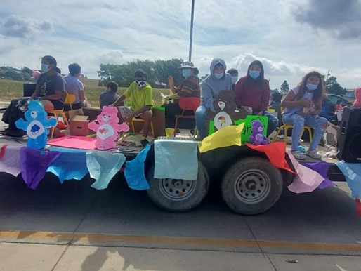 SFM Youth Group participates in RST Youth Parade.