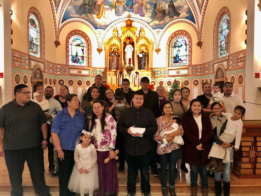 St. Charles celebrates and welcomes more baptisms!