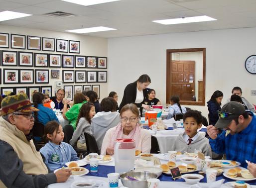 Sapa Un Hosts 1st Elder Dinner