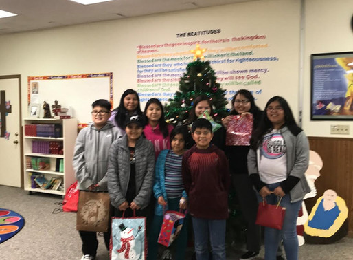 Youth Group Christmas Outreach