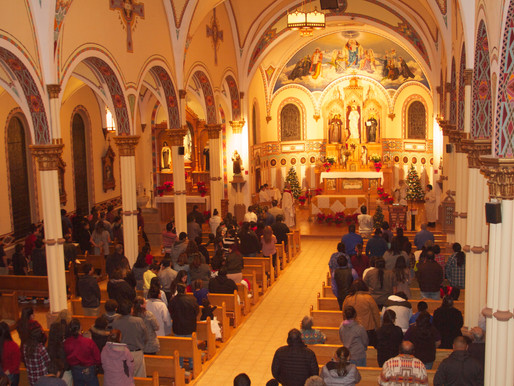 St. Charles Christmas Eve Midnight Mass!
