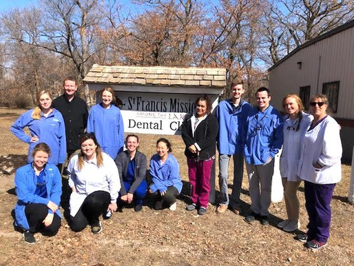 SFM welcomes Creighton Dental Students & Dr. Jason A.