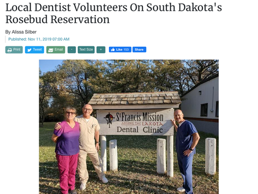 Check out this great article about our Dental Clinic by Alissa Silber of the Newtown Bee!