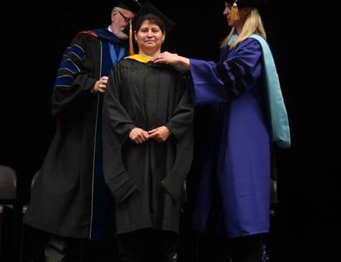 SFM Recovery Manager Receives Master Degree