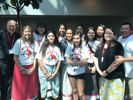 SFM Youth Group Arrives at Tekakwitha Conference