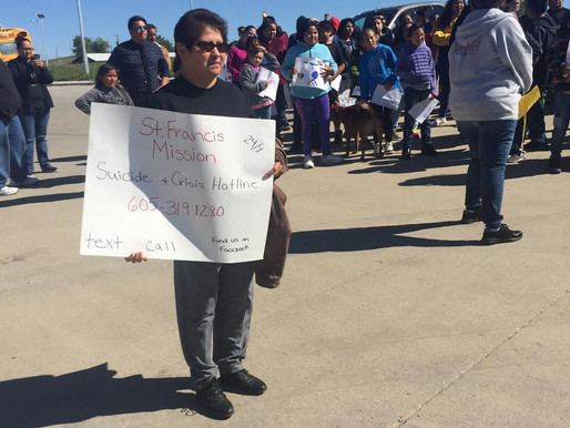Suicide & Crisis Hotline Holders Take Part In Local Suicide Awareness Walk