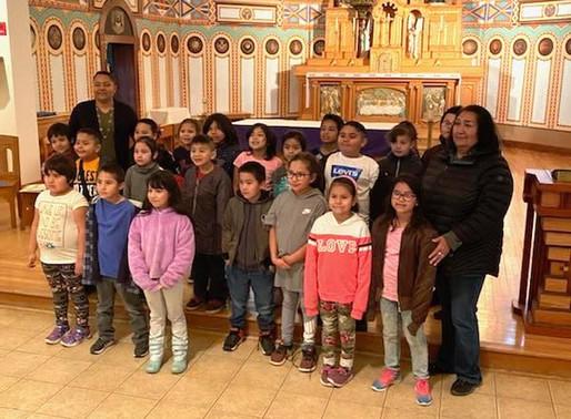 Local school visits Buechel Museum