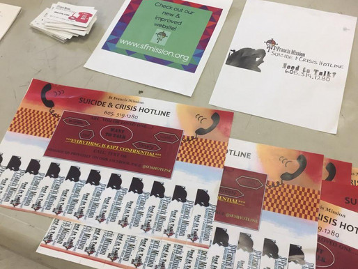 Suicide & Crisis Hotline Holders Attend Local Week Long Health Fair