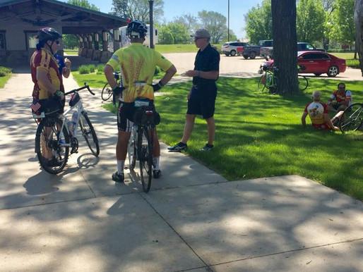 SFM Hosts Over 150 Rasdak Bicyclists