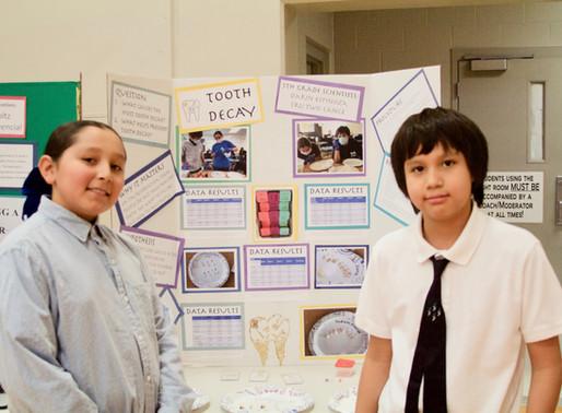 Sapa Un Participates in Science Fair