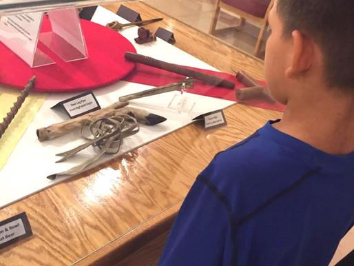 Local school visits our Buechel Memorial Lakota Museum