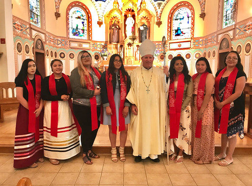Confirmations at St. Charles