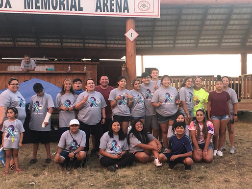 SFM Youth Group & RST Wiconi Wakan Collaborate for Glow Walk