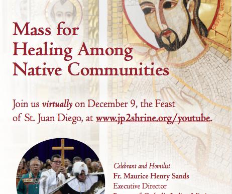 Virtual Healing Mass!