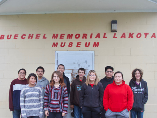 Pierre, SD High School Visits our Museum