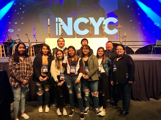 Youth Group attends National Catholic Youth Conference