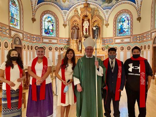 St. Charles celebrates Confirmation!